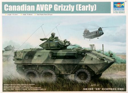 Resultado de imagen de grizzly cougar husky afv model kit