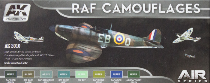 AK Interactive AK 2010 RAF Camouflages Paint Review