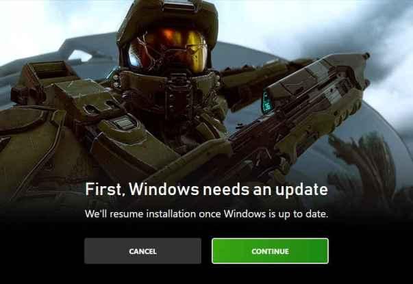 Aplicación Xbox