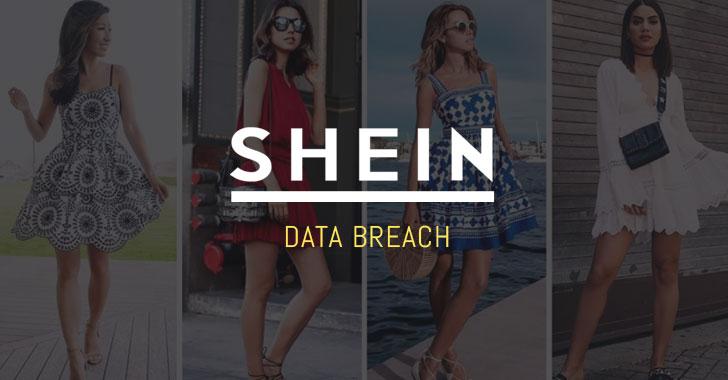 shein fashion shopping online data breach