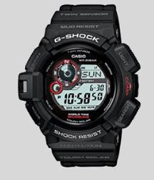 7. CASIO G9300-1 MUDMAN G-SHOCK