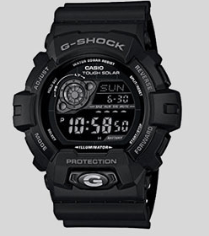 8. CASIO GR8900A-1 G-SHOCK