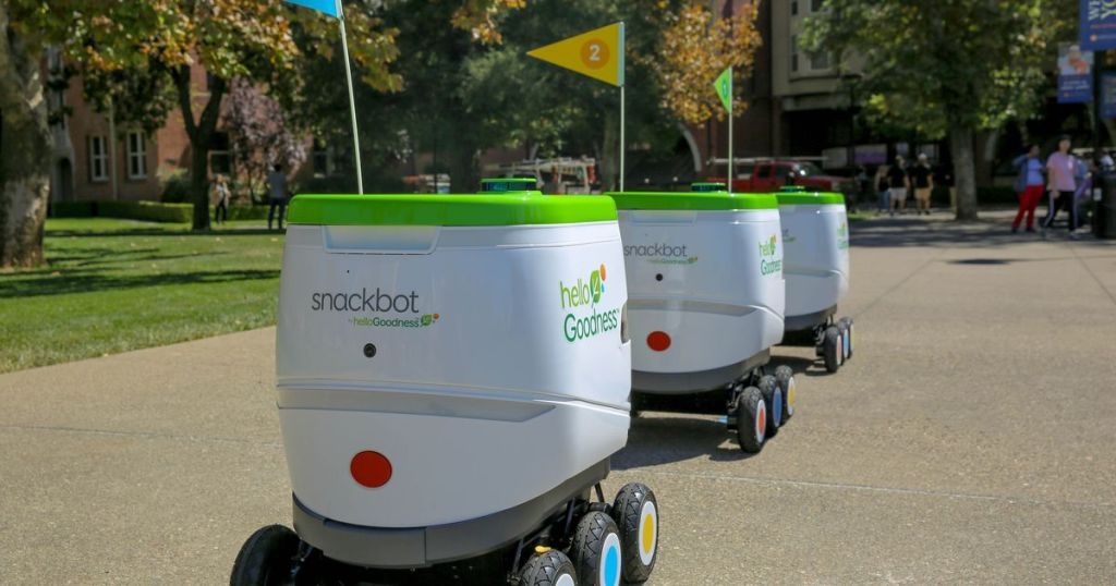 PepsiCo robots deliver snacks to college students