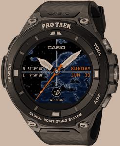 Casio Mens PRO TREK Quartz Resin Outdoor Smartwatch, ColorBlack (Model WSD-F20-BKAAU)
