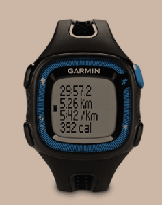 Garmin Forerunner 15 Bundle Large, Black