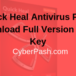 Quick Heal Antivirus Free Download Full Version With Key