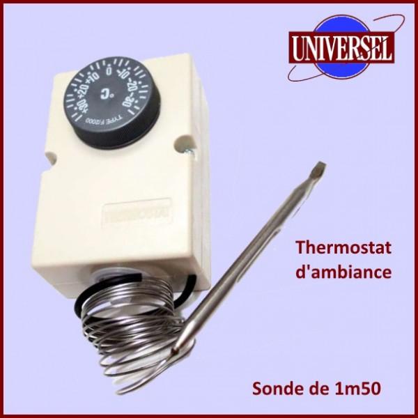 Thermostat Dambiance 35  35 avec sonde 6mm  pour chambre froide  pour Thermostats