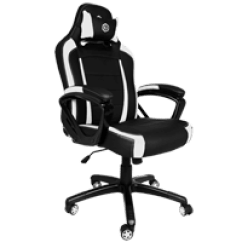 Lcs Gaming Chair Hanging Price Customize Pro Streamer I100 Pc Cyberpowerpc 300 Series Black White Color