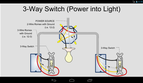 Wiring 3 Way Switch Diagrams
