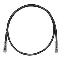 Panduit Cable Patch Cat6 UTP, RJ-45 Macho, 2.1m, Negro
