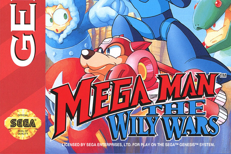 The Genesis Mini Game Lineup Now Includes the Rare Mega Man: The Wily Wars