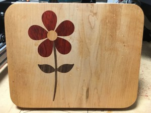 Flower Cutting Board