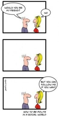 Geek conversation etiquette