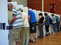 Australian Federal Election polling booths