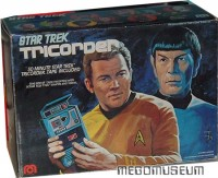 Packaging for a vintage Star Trek Tricorder