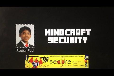 MindCraft Security – SECURE Poland (2016)