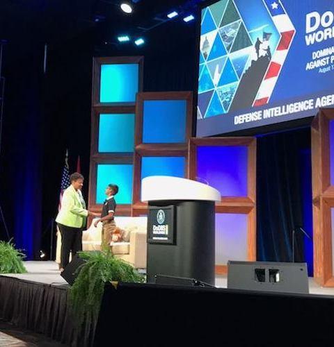 Co-Keynote with DIA CIO – DoDIIS Worldwide (2017)