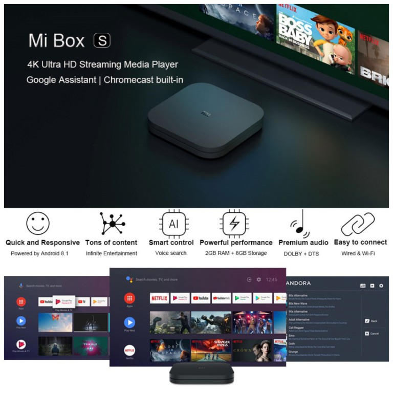 Android Box for TV Xiaomi Global Ultra 4K-7