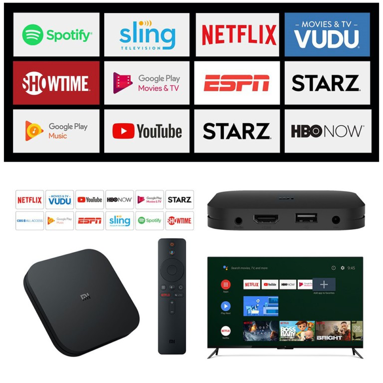 Android Box for TV Xiaomi Global Ultra 4K
