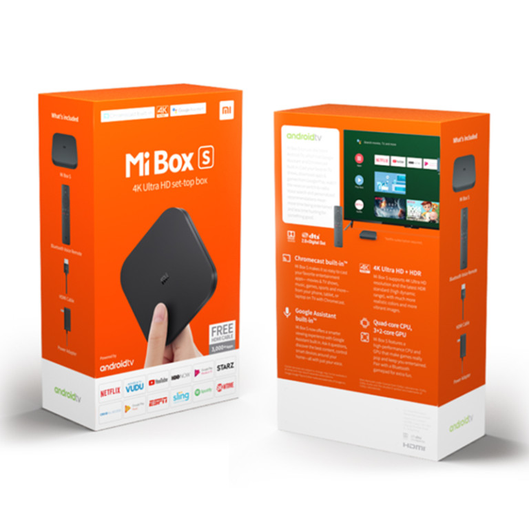 TV Android Box Xiaomi 4K