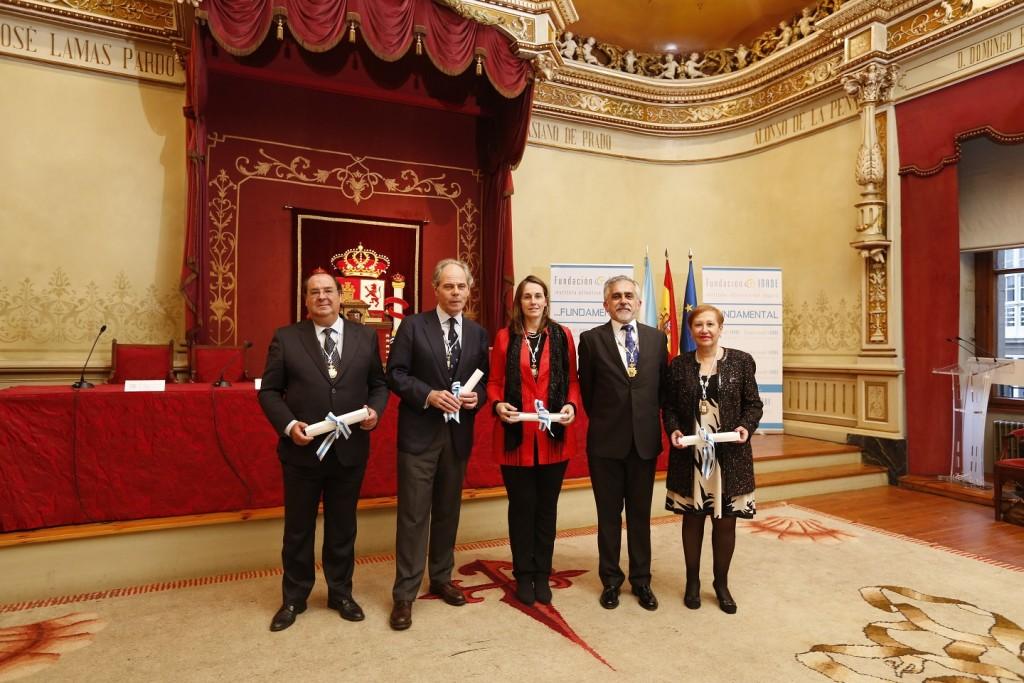Galardonados premios INADE 2016