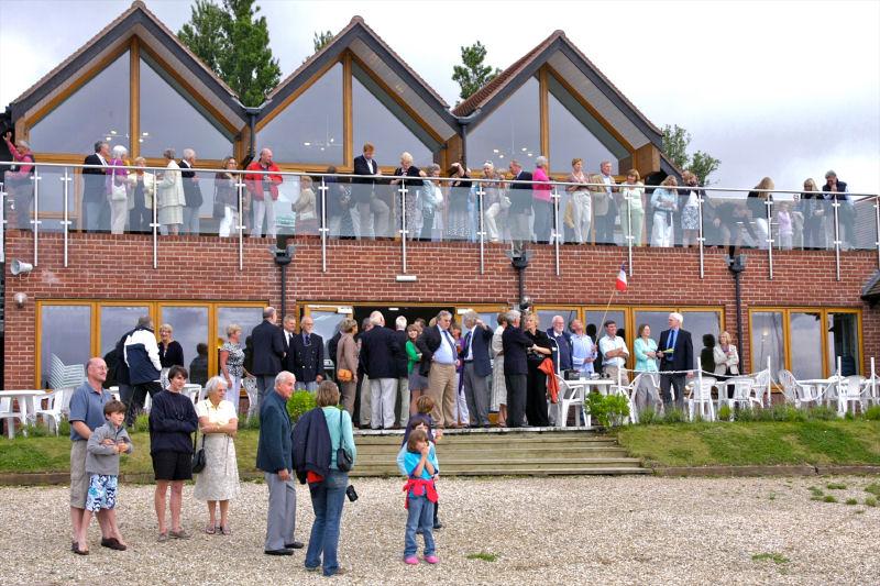 Visitors enjoying the club