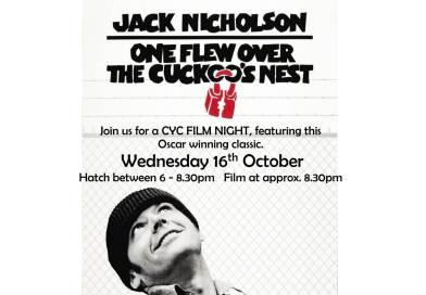 Movie Night Wednesday 16th October