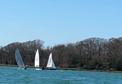 CYC Dinghies Return to the Water