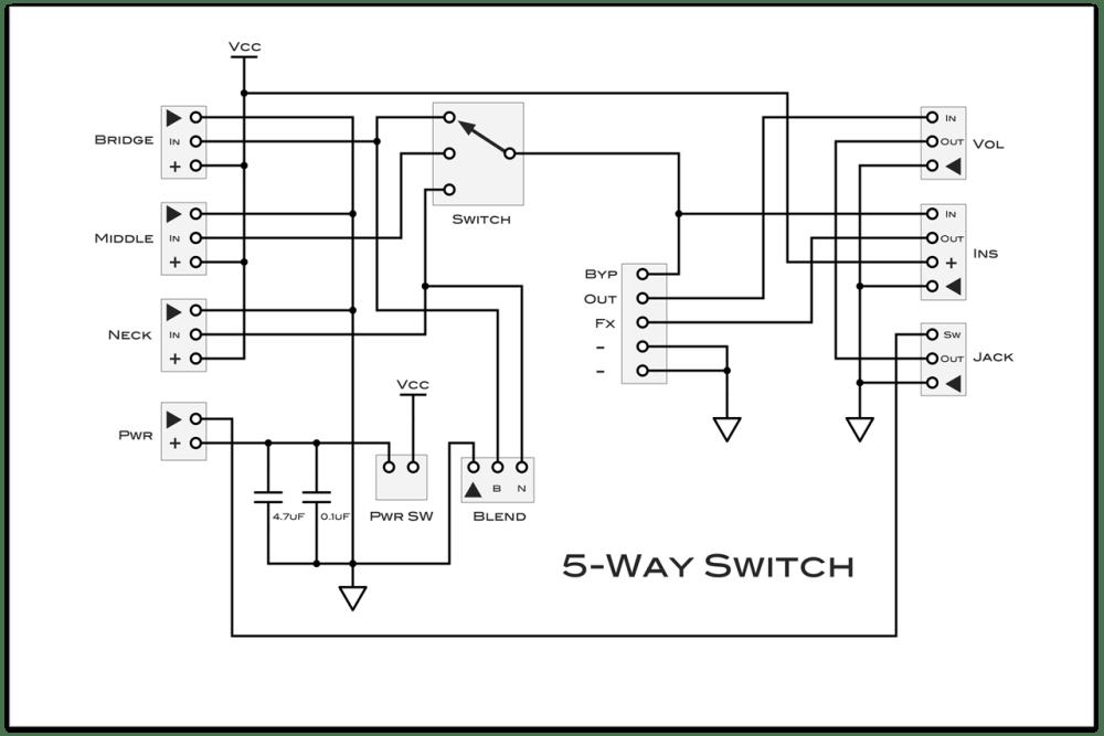 medium resolution of 5 way switch