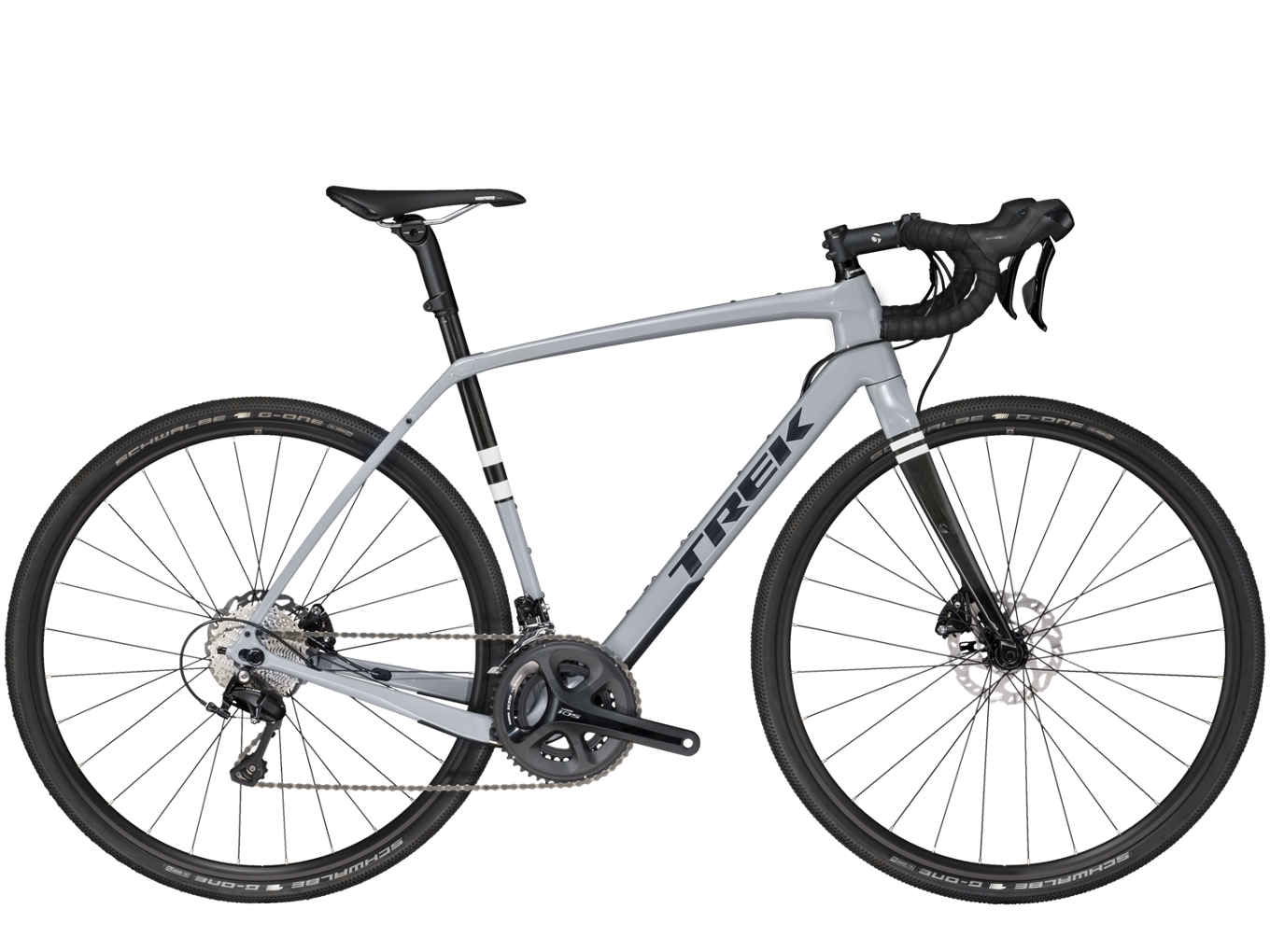 2019 Trek Checkpoint SL 5 Carbon Mens Gravel bike in Grey