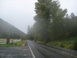 Heading toward Star Gulch Road on Upper Applegate Road.
