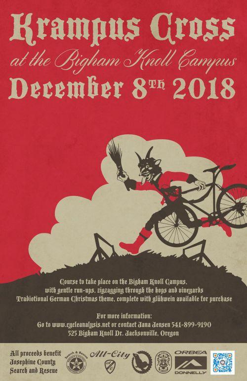 Krampus Cross 2018 Poster