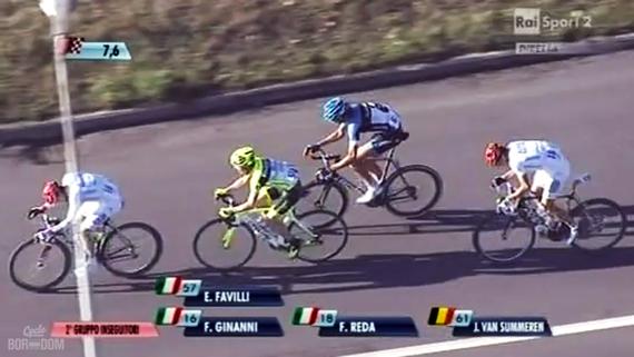 Cycleboredom | Screencap Recap: Montepaschi Strade Bianchi - Van Summeren Antipasto