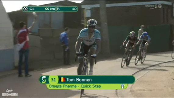 Cycleboredom | Screencap Recap: Dwars Door Vlaanderen & E3 Prijs Vlaanderen - Harelbeke - Boonen and Fabs