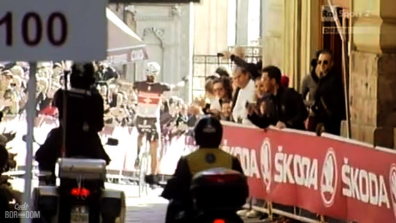 Cycleboredom | Screencap Recap: Montepaschi Strade Bianchi - Fabs Weening