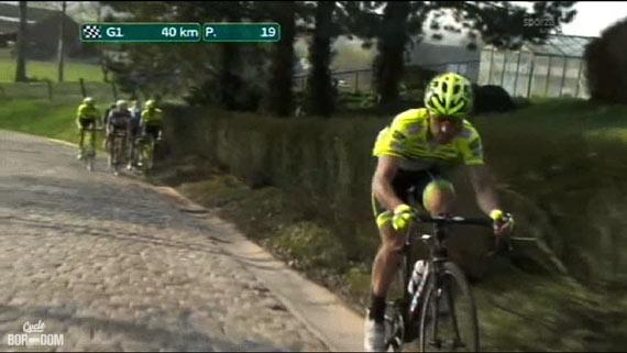 Cycleboredom | Screencap Recap: Dwars Door Vlaanderen & E3 Prijs Vlaanderen - Harelbeke - Hi-Viz Hi Jinx