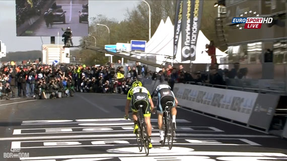 Cycleboredom | Screencap Recap: Ronde van Vlaanderen - Buttocks Of Overwinnings