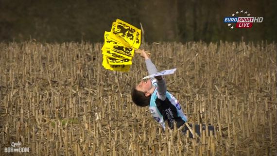 Cycleboredom | Screencap Recap: Ronde van Vlaanderen - 'Dat Kid!