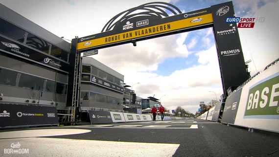 Cycleboredom | Screencap Recap: Ronde van Vlaanderen - Open With The Finish