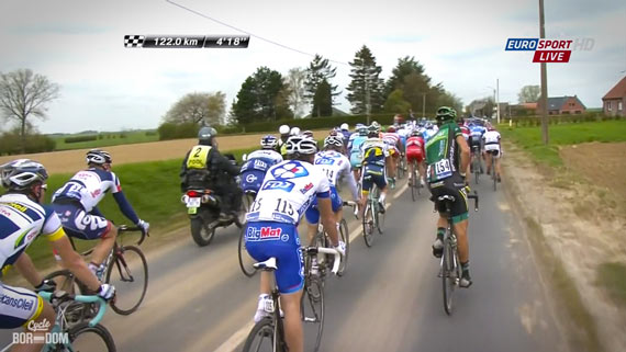 Cycleboredom | Screencap Recap: Paris-Roubaix - Natural Break