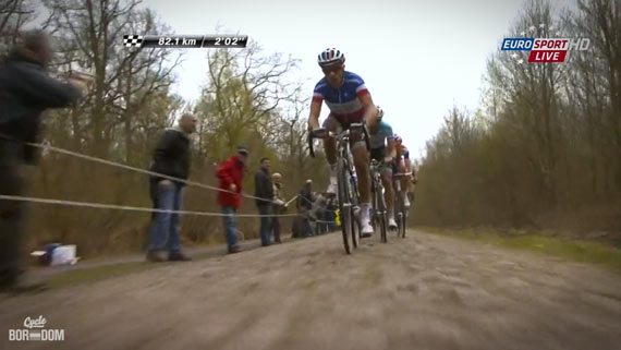 Cycleboredom | Screencap Recap: Paris-Roubaix - Stones