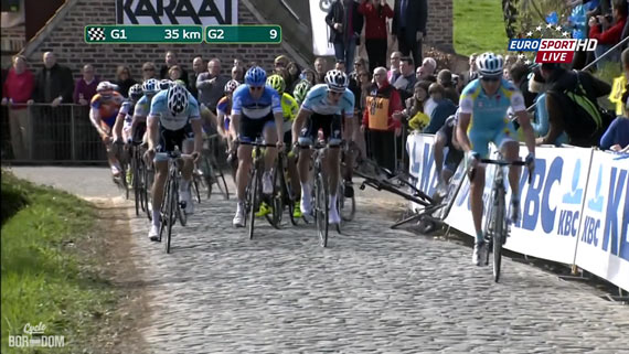 Cycleboredom | Screencap Recap: Ronde van Vlaanderen - The Paterberg