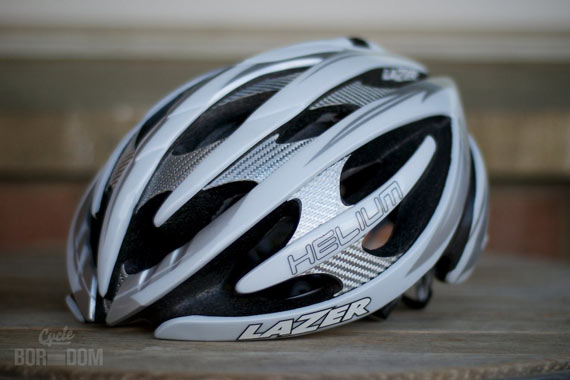 Cycleboredom | What I'm Riding: Lazer Helium Helmet - Sweeping Lines
