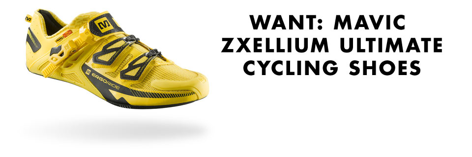 Cycleboredom | WANT: Mavic Zxellium Ultimate Cycling Shoes