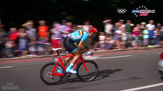 Cycleboredom | Screencap Recap: Men's Olympic Road Race - Oh Hai, Tommeke