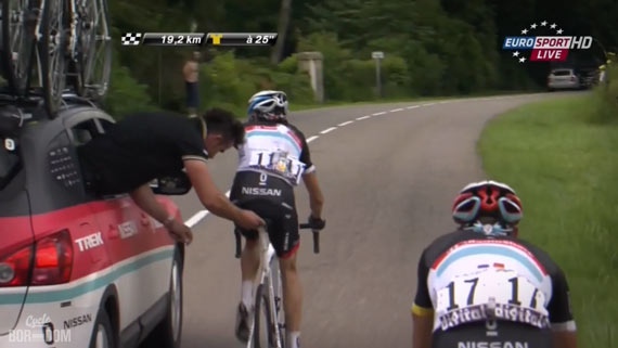 Cycleboredom | Tour in Microdose: Stage 6 - Frank Schleck's Ghost Brake