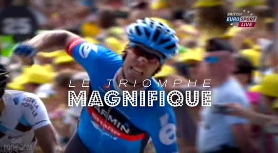 Tour in Microdose: Screencap Recap - Millar Fois! - Le Triomphe Magnifique