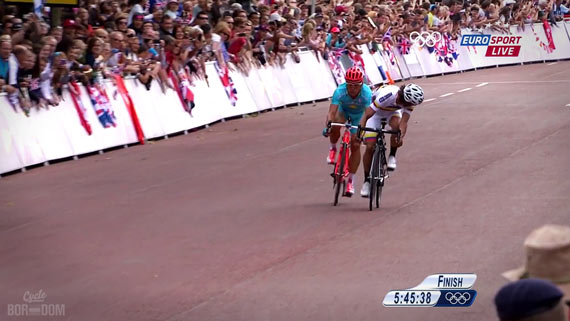 Cycleboredom | Screencap Recap: Men's Olympic Road Race - Mullet Tries Again