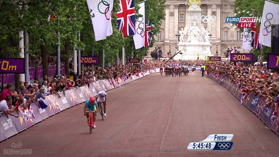 Cycleboredom | Screencap Recap: Men's Olympic Road Race - Too Late