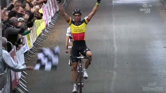 Cycleboredom | Screencap Recap: GP Neerpelt - Overwinnings Voor Nys